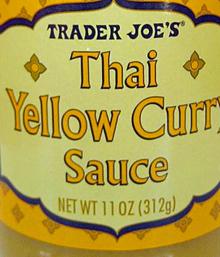 Trader Joe's Thai Yellow Curry Sauce