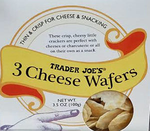 Trader Joe's 3 Cheese Wafers