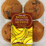 Trader Joe's Banana Chocolate Chip Muffins
