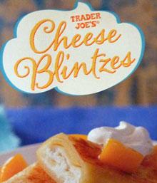 Trader Joe's Cheese Blintzes