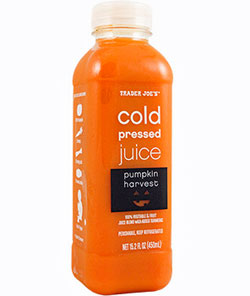 Trader Joe's Cold Pressed Pumpkin Harvest Juice
