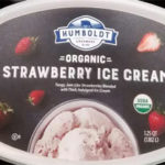 Humboldt Creamery Organic Strawberry Ice Cream