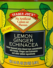 http://www.traderjoesreviews.com/product/trader-joes-lemon-ginger-echinacea-juice-reviews/