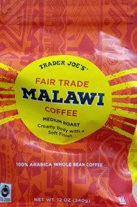 Trader Joe's Fair Trade Malawi Coffee
