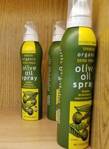 Trader Joe's Spanish Organic Extra Virgin Olive Oil Spray