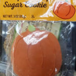 Trader Joe's Pumpkin Shaped Sugar Cookie