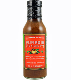 Trader Joe's Pumpkin Vinaigrette