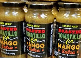 Trader Joe's Roasted Tomatillo & Mango Salsa