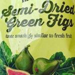 Trader Joe's Semi-Dried Green Figs