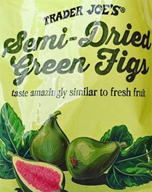 Trader Joe's Semi-Dried Green Figs