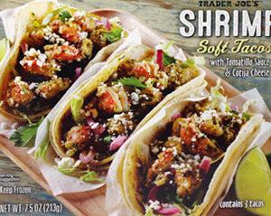 Trader Joe's Shrimp Soft Tacos