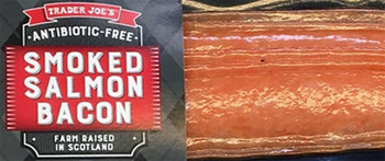 Trader Joe's Smoked Salmon Bacon