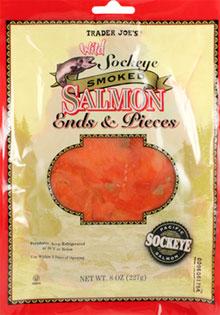 Trader Joe's Wild Sockeye Smoked Salmon Ends & Pieces