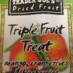 Trader Joe's Triple Fruit Treat