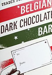 Trader Joe's Belgian Dark Chocolate Bar