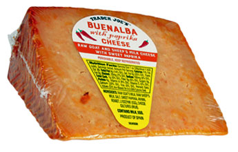 Trader Joe's Buenalba Cheese with Paprika