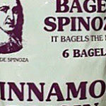 Trader Joe's Cinnamon Raisin Bagel Spinoza