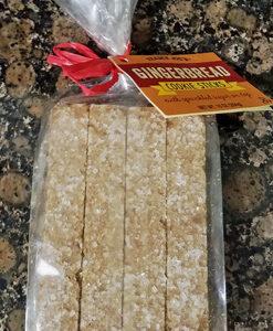 Trader Joe's Gingerbread Cookie Sticks