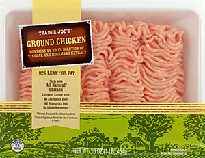 Trader Joe's All Natural Ground Chicken
