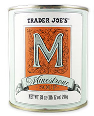 Trader Joe's Canned Minestrone Soup