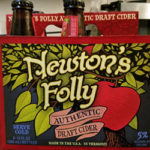 Newton's Folly Authentic Draft Apple Cider