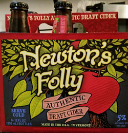 Newton's Folly Authentic Draft Apple Cider