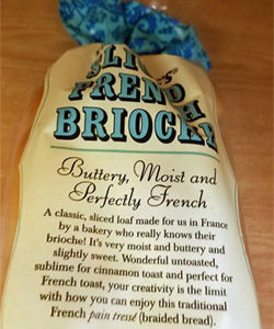 Trader Joe's Sliced French Brioche