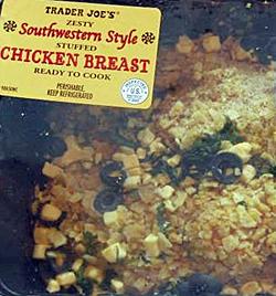 Trader Joe's Southwestern Style Stuffed Chicken Breast
