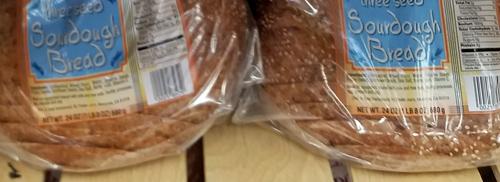 Trader Joe's Three Seed Sourdough Bread