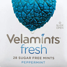 Fresh Peppermint Velamints