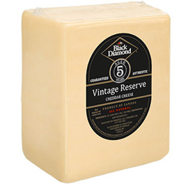 Black Diamond Five Year Aged Cheddar Cheese