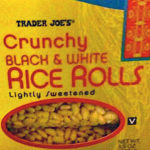 Trader Joe's Black & White Rice Rolls