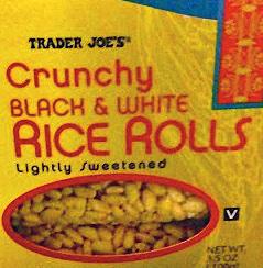 Trader Joe's Black & White Rice Rolls