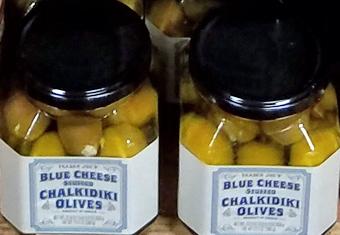 Trader Joe's Blue Cheese Chalkidiki Olives