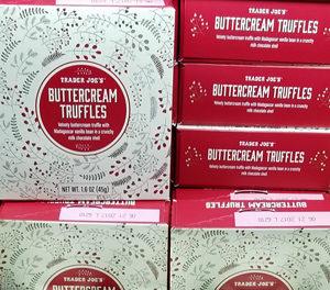 Trader Joe's Buttercream Truffles