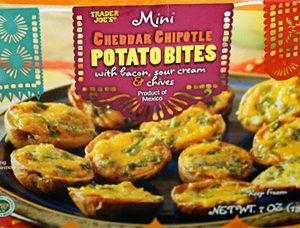 Trader Joe's Mini Cheddar Chipotle Potato Bites