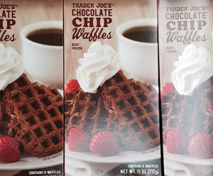 Trader Joe's Chocolate Chip Waffles