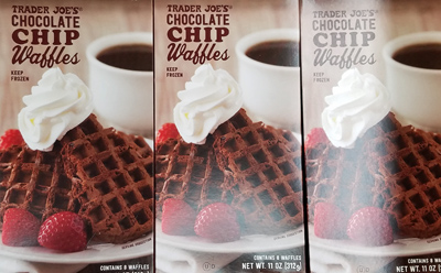 Trader Joe's Chocolate Chip Waffles