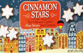 Trader Joe's Cinnamon Stars Cookies
