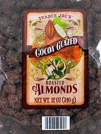 Trader Joe's Cocoa Glazed Roasted Almonds