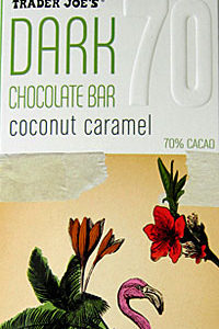 Trader Joe's Coconut Caramel Dark Chocolate Bar