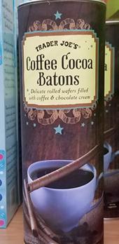 Trader Joe's Coffee Cocoa Batons