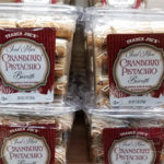 Trader Joe's Iced Mini Cranberry Pistachio Biscotti