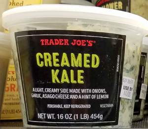 Trader Joe's Creamed Kale