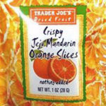 Trader Joe's Crispy Jeju Mandarin Orange Slices