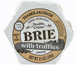 Trader Joe's Double Crème Brie with Truffles