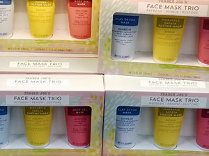Trader Joe's Face Mask Trio