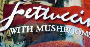 Trader Joe's Fettuccine with Mushrooms