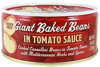 Trader Joe's Giant Baked Beans in Tomato Sauce