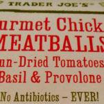 Trader Joe's Gourmet Chicken Meatballs